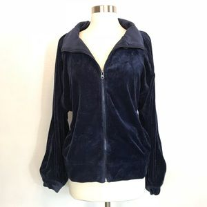 Urban Outfitters Silence + Noise Velvet Jacket L